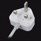 Universal 4-Port USB Charger / Power Adapter w/ UK Plug - White