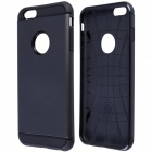 "Slim Armor Style Protective PC + Silicone Back Case for IPHONE 6 Plus 5.5"" - Black"