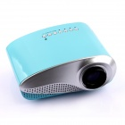 RD-802 24W LED HD Home Mini Projector w/ HDMI / VGA / USB + Remote Control - Blue (US Plug)