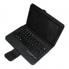 """Bluetooth v3.0 Keyboard With Leather Case for TOSHIBA 8"""" WT8-AT01G / WT8-AT02G - Black"""