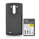 Replacement 3.8V / 7000mAh Li-ion Battery + Back Case for LG G3 / BL-53YH / D855 / VS985 - Black