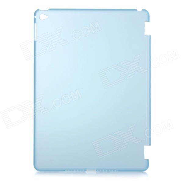 Protective Plastic Back Case Cover for IPAD AIR 2 - Translucent Blue one piece 1x brand new high quality silicon protective skin case cover for xbox 360 remote controller blue green mix color