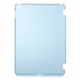 Protective Plastic Back Case Cover for IPAD AIR 2 - Translucent Blue