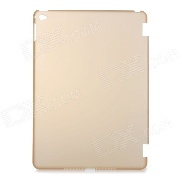 Protective Plastic Back Case Cover for IPAD AIR 2 - Translucent Coffee