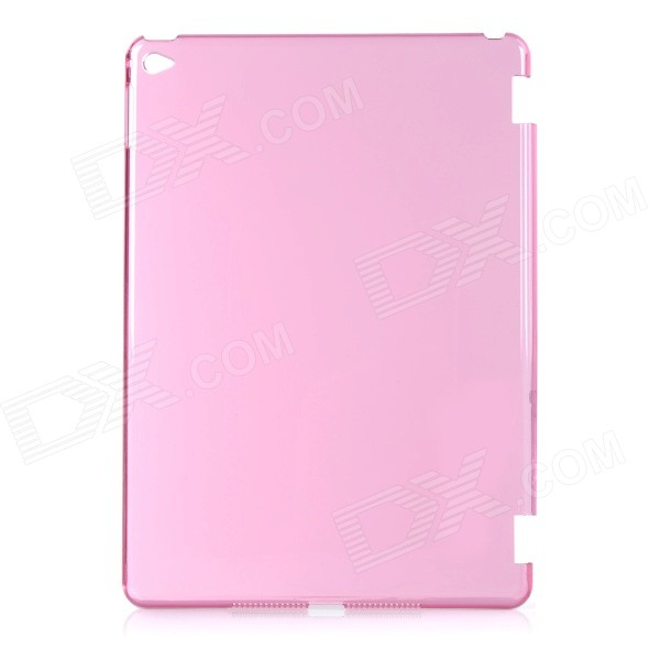 Protective Plastic Back Case Cover for IPAD AIR 2 - Transparent Pink