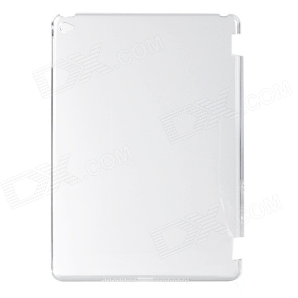 Protective Plastic Back Case Cover for IPAD AIR 2 - Transparent White