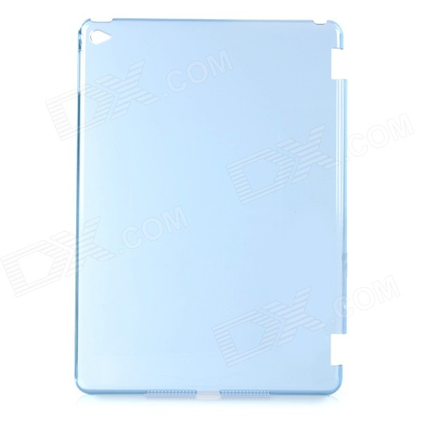 Protective Plastic Back Case Cover for IPAD AIR 2 - Transparent Blue one piece 1x brand new high quality silicon protective skin case cover for xbox 360 remote controller blue green mix color