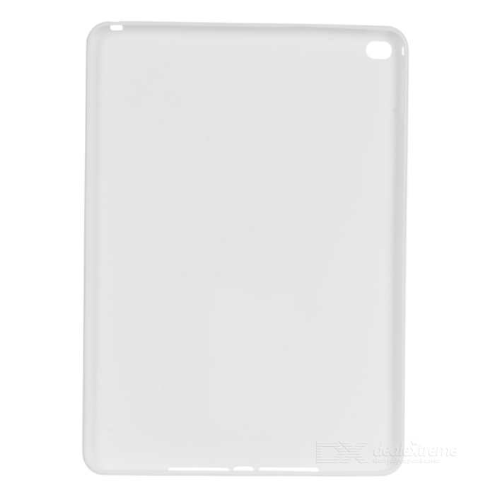Protective Soft TPU Back Case Cover for IPAD AIR 2 - White powerful led flashlight 1603 38 cree xm l2 xml t6 lantern rechargeable torch zoomable waterproof 18650 battery lamp hand light
