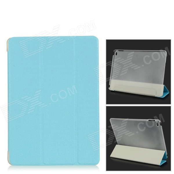 Ultra-thin Protective PC + PU Full Body Case w/ Stand / Auto Sleep for IPAD AIR 2 - Sky Blue + White 15 pcs puer tea high quality chinese yunnan pu er tea mini pu er tuocha puerh tea lose weight organic green food
