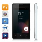 "iNew U1 4.0"" Capacitive Android 4.4 Dual-Core 3G Cell Phone w/ 4GB ROM, Dual-SIM - White"