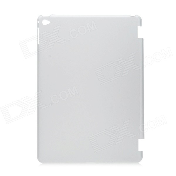 Protective Matte Plastic Back Case for IPAD AIR 2 - Translucent White protective silicone case for nds lite translucent white