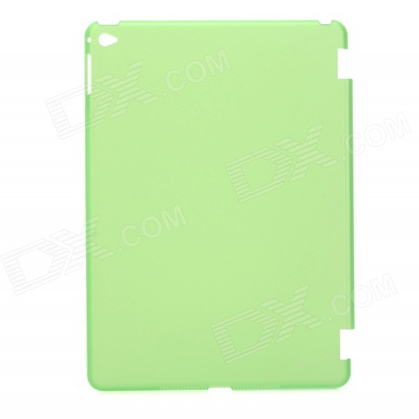 Protective Matte Translucent Plastic Back Case for IPAD AIR 2 - Green