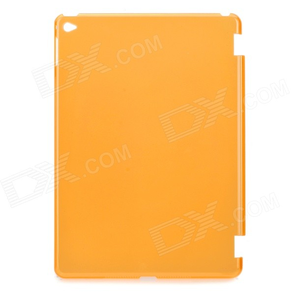 Protective Plastic Back Case for IPAD AIR 2 - Translucent Orange