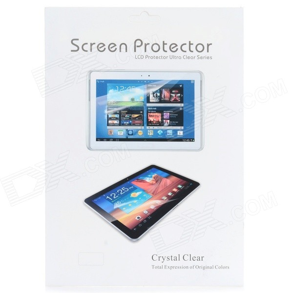 Dustproof Scratchproof Fingerprint-Proof PET Screen Protector for IPAD AIR 2 - Transparent