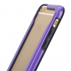 "Protective TPU Bumper Frame Case for IPHONE 6 4.7"" - Deep Purple + Black"