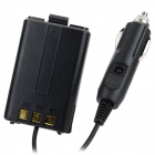 Universal ABS Car Charger with 7.4V 1800mAh Lithium Ion Battery - Black