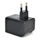 EU Plug Bluetooth Home Music Audio Receiver / 5V 2A USB Charger for IPAD + More - Black