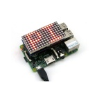 Waveshare 8 x 8 Red Dot Matrix módulo de LED para Raspberry Pi B / B + - preto + branco + Verde
