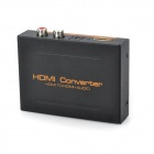 VINA EP Solution HDMI to HDMI / SPDIF + R/L Signal Audio Converter - Black (US Plug)