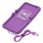 Universal Qi Wireless Charger for Samsung / LG + More - Purple