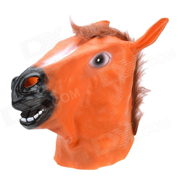 SYVIO Horse Style Mask for Party / Cosplay - Brown