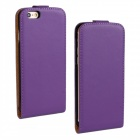 "Business Style Protective Top Flip-Open Case Cover for IPHONE 6 4.7"" - Purple"