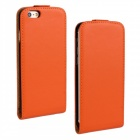 "Protective Leather Up-Down Flip-Open Case for IPHONE 6 PLUS 5.5"" - Orange"