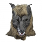 Halloween Party Cosplay Wolf Style Mask - Grey Black