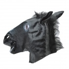 SYVIO Stylish Halloween Party Cosplay Horse Mask - Black