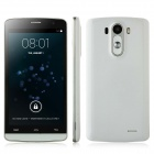 "G3 Android 4.4 Quad Core WCDMA Phone w/ 5.0"", 4GB ROM, GPS, WiFi, Bluetooth - White"
