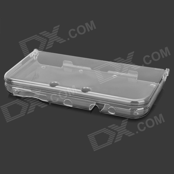 Plastic Full Body Case / Box for NEW 3DSXL - Transparent