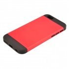 "Armor Style PC + TPU Protective Back Case for IPHONE 6 4.7"" - Red + Black"