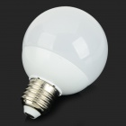 E27 7W 560lm 2800K 14-SMD 5730 LED Warm White Light Bulb - White + Silver (AC 85~265V)