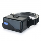 Universal Headband Virtual Reality 3D & Video Glasses for IPHONE 5 / 5S / 5C - Black