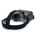Universal Headband Virtual Reality 3D & Video Glasses for Smartphones - Black
