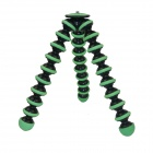 10-inch Flexible Desktop Tripod for Digital Camera - Green + Black (3KG Max.)