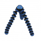 10-inch Flexible Desktop Tripod for Digital Camera - Blue + Black (3KG Max.)