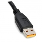 Portable USB 3.0 to HDMI Adapter Cable - Black (18cm)