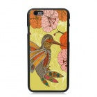 "Elonbo Flowers & Birds Pattern Plastic Hard Back Cover Case for IPHONE 6 PLUS 5.5"" - Multicolored"