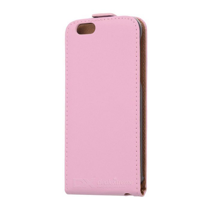 Capa protetora superior flip-open para IPHONE 6 - rosa
