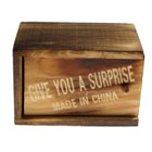 Wooden Surprise-Box Practical Joke