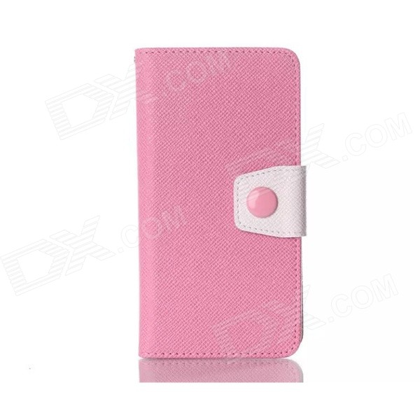 Stylish Protective Flip Open PU + TPU Case w/ Stand for LG G3 - Pink bluetooth гарнитура jabra motion uc ms черный 6640 906 301