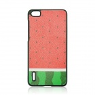 Watermelon Pattern Plastic Back Cover Case for HUAWEI Honor 6 - Red + Green