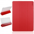 ENKAY Protective PU Leather Full Body Case w/ Stand / Auto Sleep / Wake-up for IPAD AIR 2 - Red