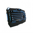 AULA 3-Color Backlit USB Wired 104-Key Gaming Keyboard - Black