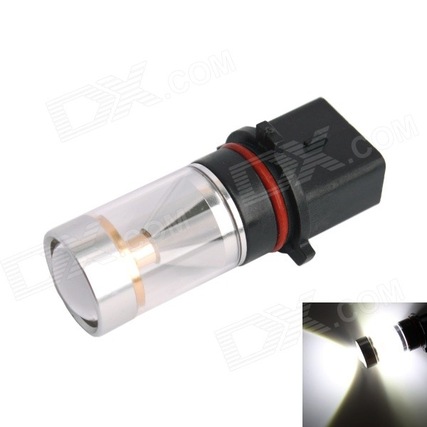 GC P13W 30W 6-LED 600lm 6000K White Light Car Headlamp / Fog Light (DC10~24V) gc h8 30w 6 led 600lm 6000k white light car headlamp foglight w anti beam dc10 24v