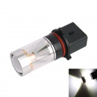 GC P13W 30W 6-LED 600lm 6000K White Light Car Headlamp / Fog Light (DC10~24V)