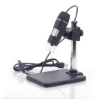 ZnDiy-BRY 25cm Working Distance 1-500X HD USB Digital Electronic Microscope - Black