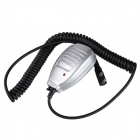 Baiston BST-32 Iron Clamp Handheld Microphone for Walkie Talkie - Silver