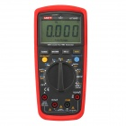 "UNI-T UT139C 2.6"" LCD True RMS Digital Multimeter - Red + Black Grey (2 x AA)"